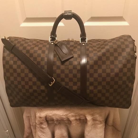 b272f24667a6 Louis Vuitton Handbags - AUTHENTIC !! LV Keepall Damier Bandouliere 55